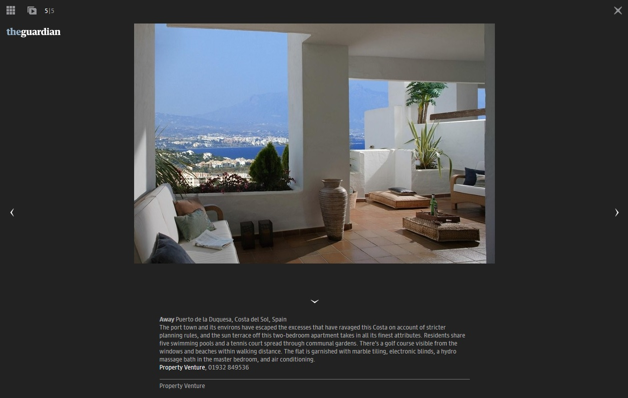 The Guardian-Costa del Sol apartment-La Duquesa-Property Venture feature