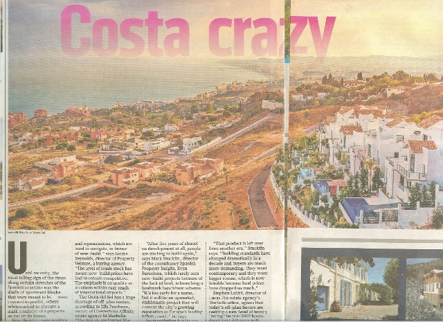 Sunday Times Costa Crazy Zoe dare hall part picture part words sm