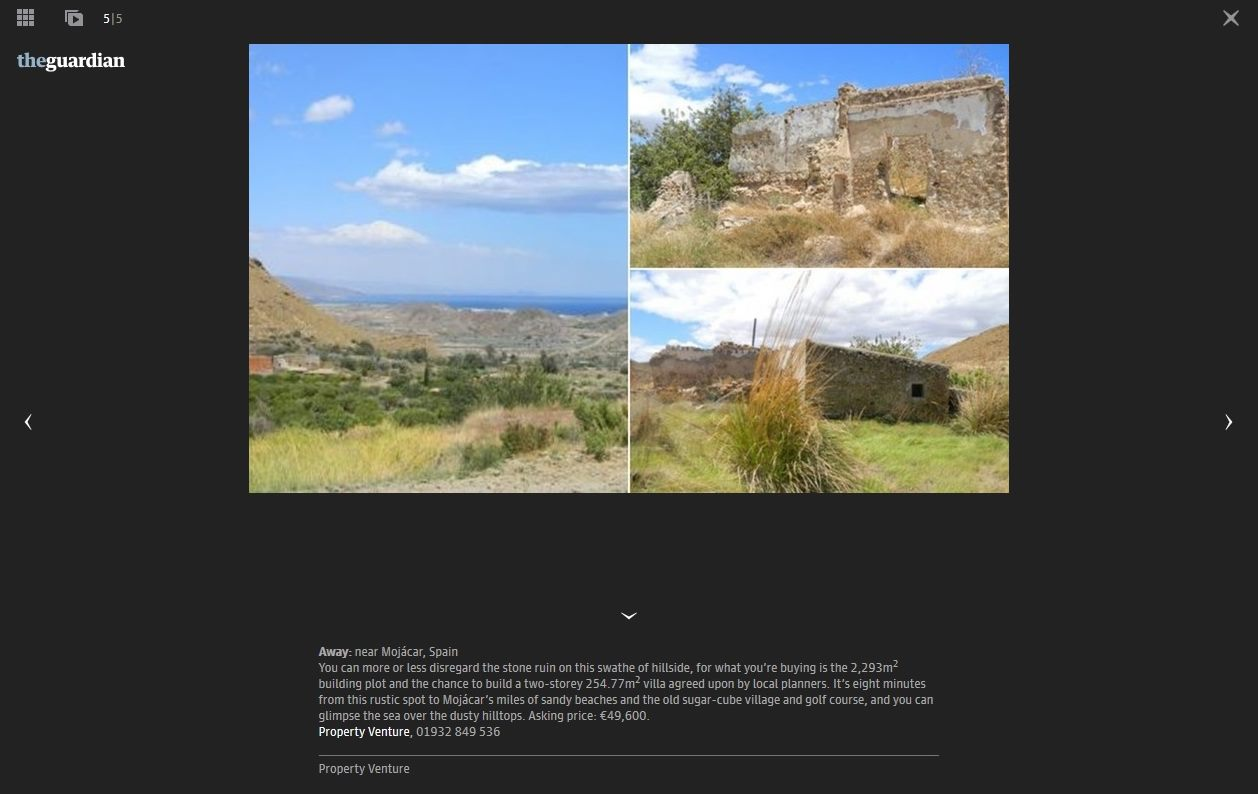 The Guardian-Homes which need work-Mojacar Property Venture-3.8.14