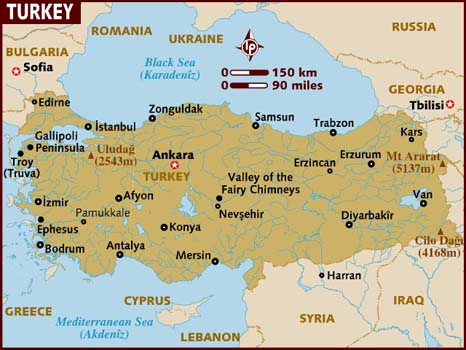 Property Turkey, Map
