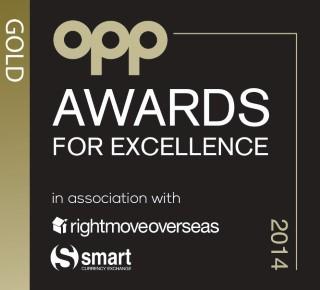 OPP Gold Award 2014