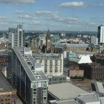 Manchester City Property skyline view