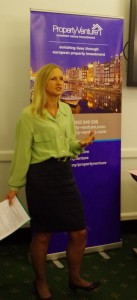Louise Reynolds presents at Investor Strategy seminar