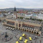 Krakow Rynek Glowny, Market Square, Poland
