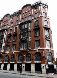 UK Housing Manchester apartment block