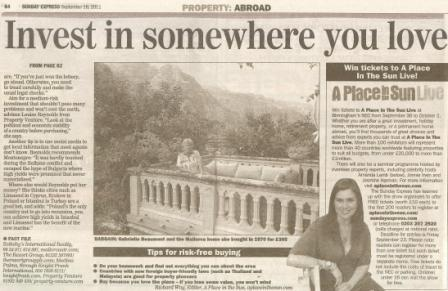 Porperty Venture-Limassol Property-Sunday Express
