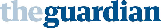The Guardian logo.pale blue dark blue images