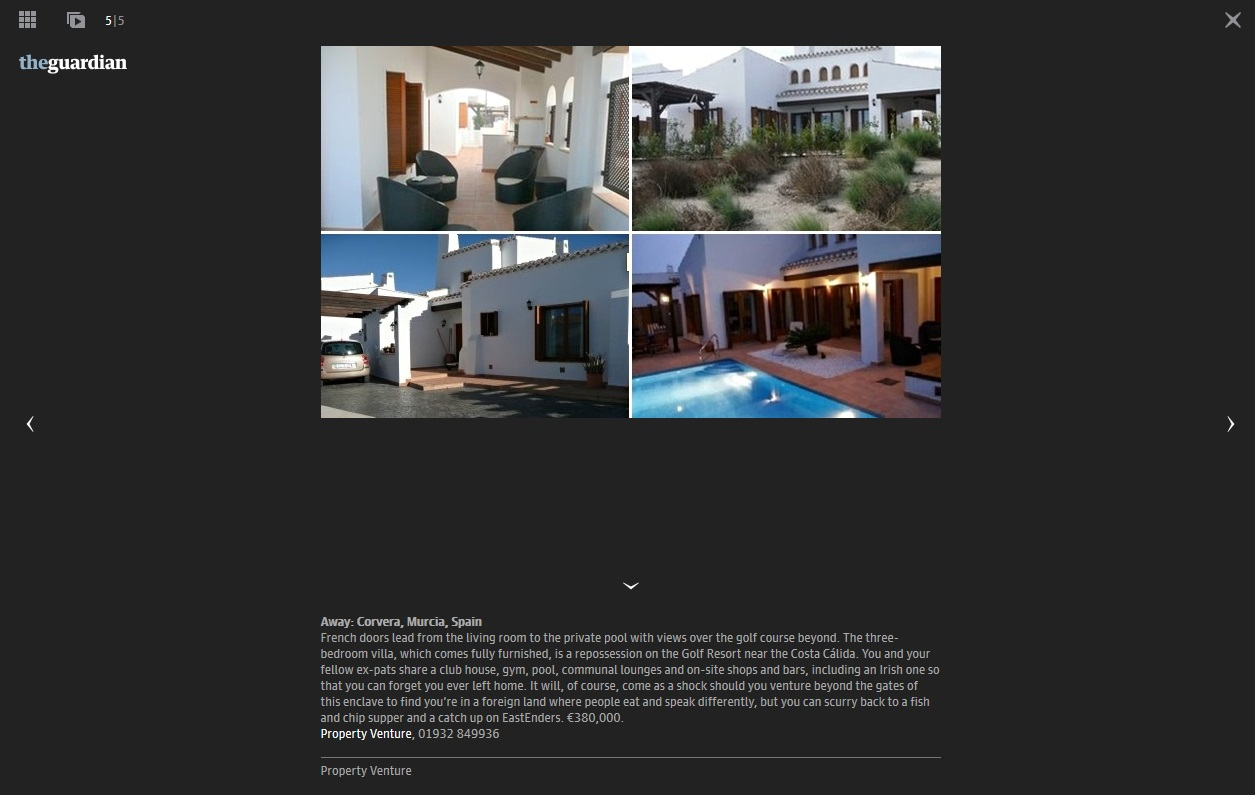 Guardian-21.6.14-Homes for 300k-Murcia