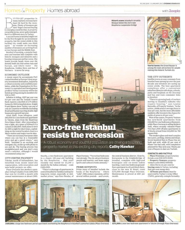 HomesProperty Evening Standard Istanbul 16.1.13-small