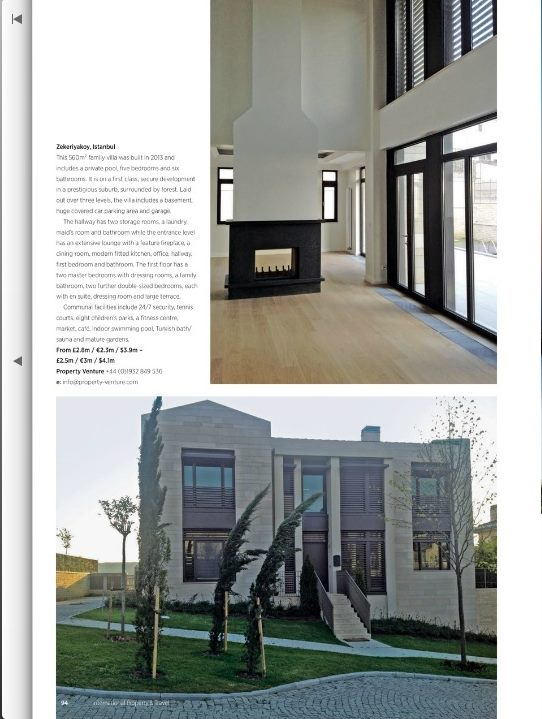 International Property  Travel-July-August 2014 edition-luxury Istanbul 2