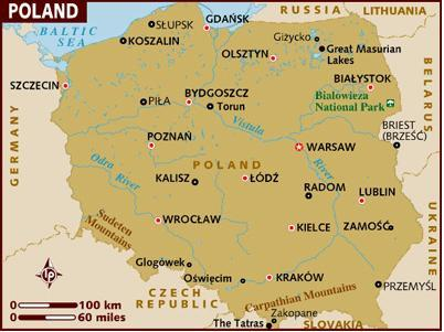 Poland property cities