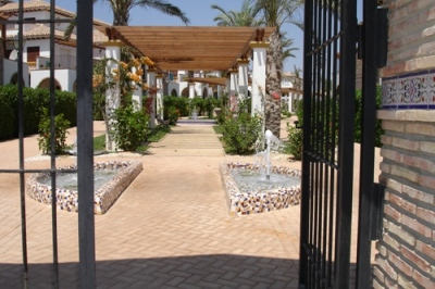Costa Almeria courtyard, Spanish Homes